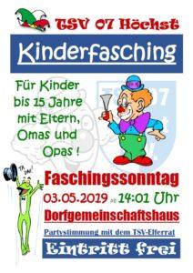 Kinderfasching @ DGH Höchst