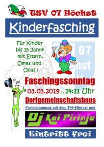 Kinderfasching @ Dorfgemeinschaftshaus Höchst