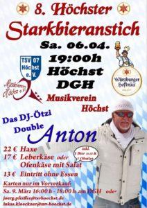Starkbieranstich 2019 @ Dorfgemeinschaftshaus Höchst