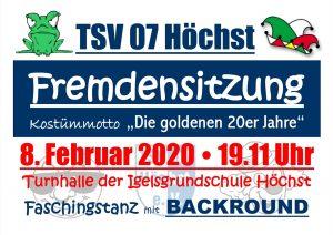 47. Fremdensitzung 2020 @ Turnhalle Igelsgrund-Schule
